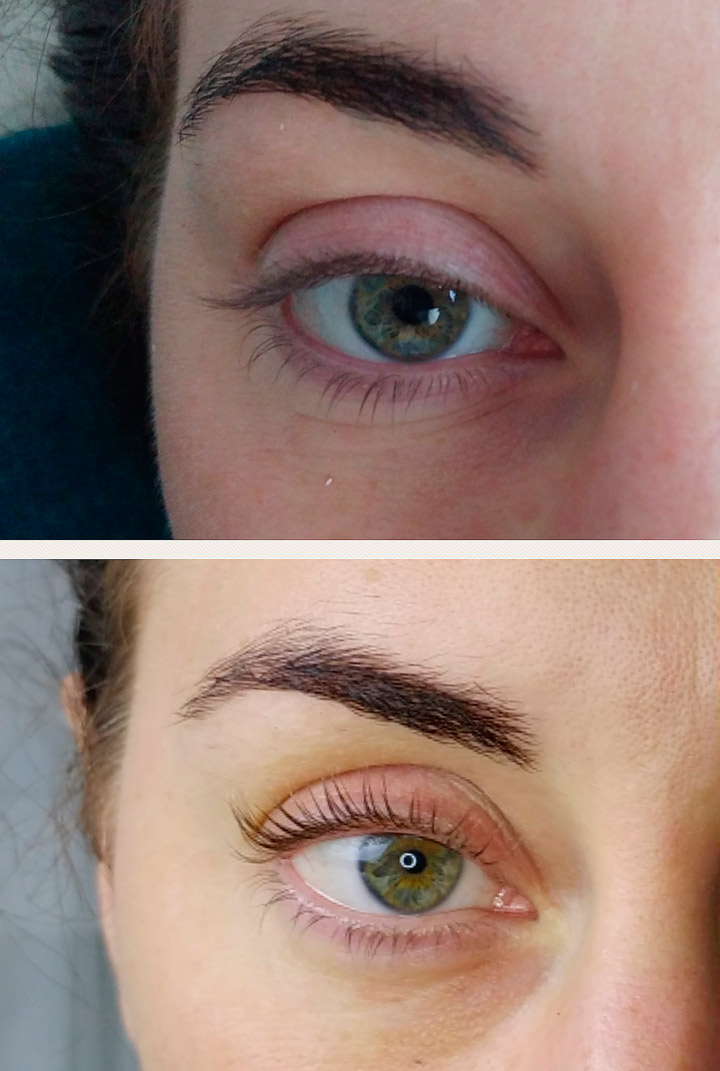 LVL Lashes treatment Dublin